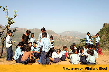 Hill School Children