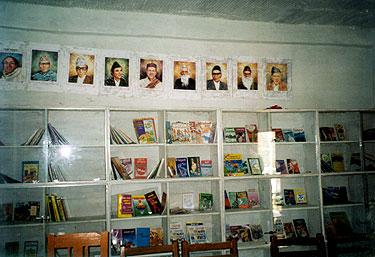 School Library in Benighat
